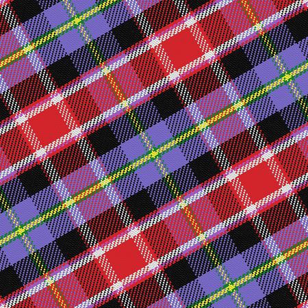 seamless pattern Scottish tartan Colorado Vector