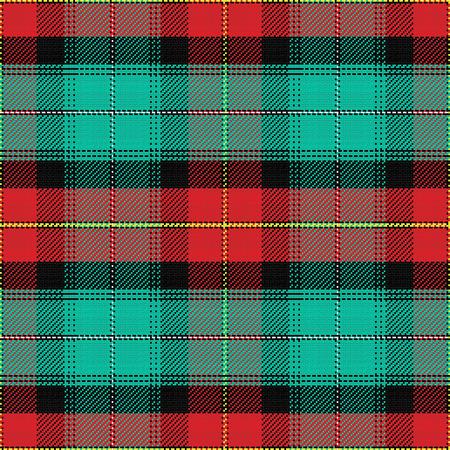 edward: seamless pattern Scottish tartan Prince Edward Island Illustration
