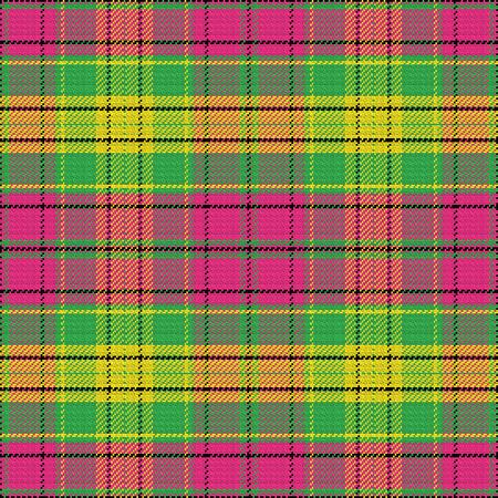 pink green: vector sin patr�n de tart�n escoc�s, negro, rosa, verde, amarillo