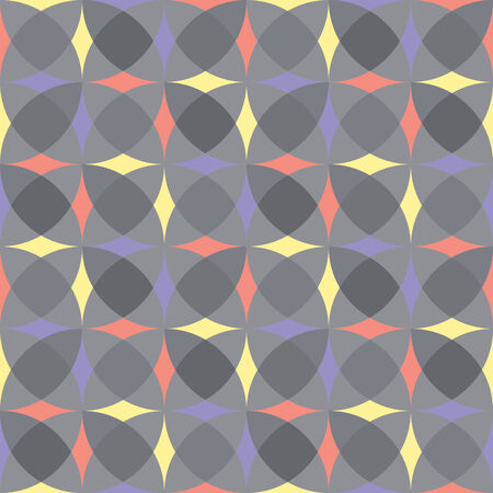 seamless gray geometric pattern Vector
