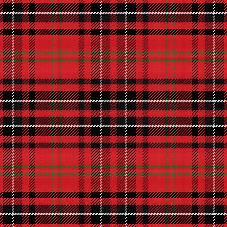 vector seamless pattern Scottish tartan Vector