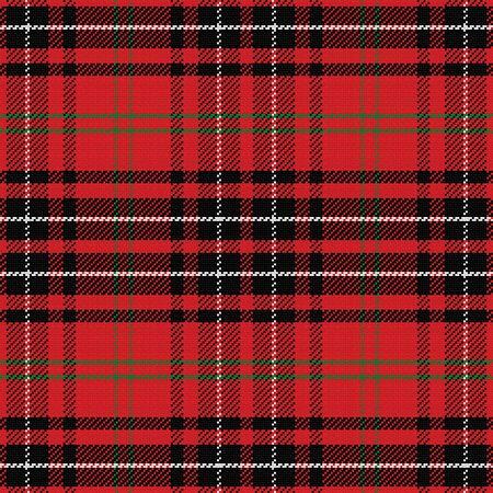 vector seamless pattern Scottish tartan Vector