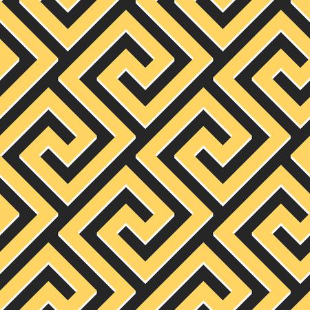 meander: vector seamless Greek ornament, Meander Illustration