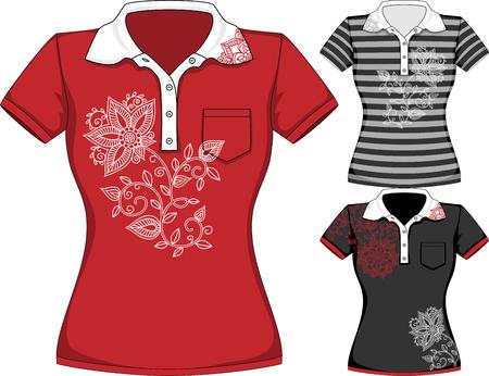 short sleeve: womens short sleeve t-shirt design templates