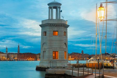 pharos: Lighthouse on island San Giorgio Maggiore, Venice
