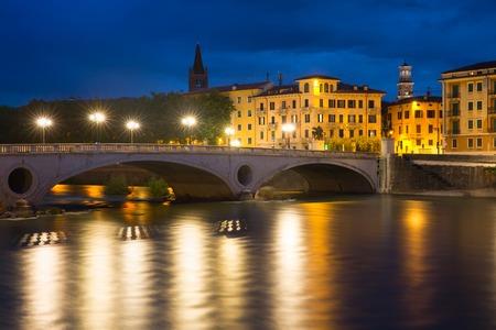 risorgimento: Ponte Risorgimento and Adige, Verona, Italy