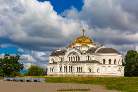 'saint nicholas': Saint Nicholas Garrison church in Brest , Belarus