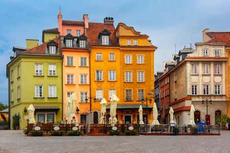 Warsaw Old town, Poland. Stock Photo