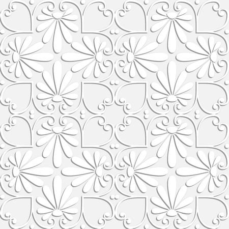 Greek floral pattern. Ilustração
