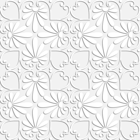 Greek floral pattern. Illustration