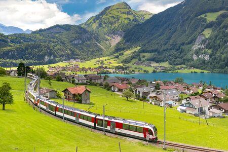 Villaggio svizzero Lungern, Svizzera