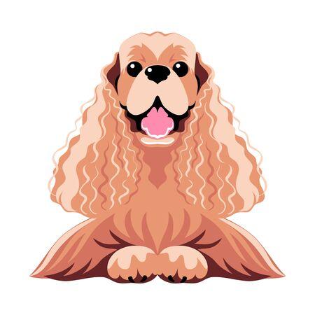 dog icon flat design Archivio Fotografico - 129211147