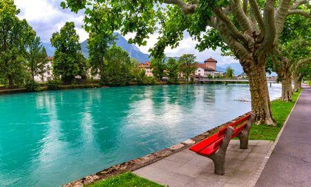 Old City of Interlaken, Switzerland