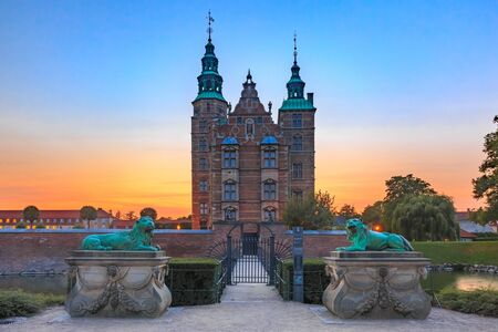 Château de Rosenborg à Copenhague, Danemark