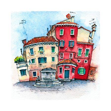 Campo San Stin Venice, Italia