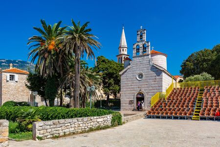 Saint Ivan and Holy Trinity churches of Montenegrin town Budva, Montenegro