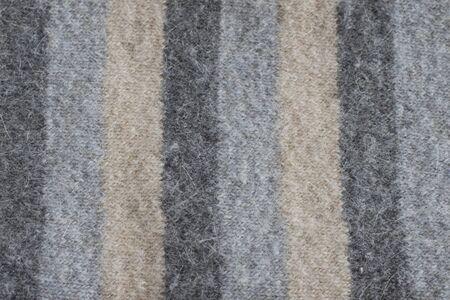 Stripe woolen texture photo