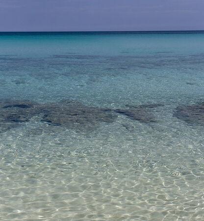 Coast of the Gulf of Mexico, summer, Cuba  Stock Photo