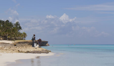 Coast of the Gulf of Mexico, Cuba  Stock Photo