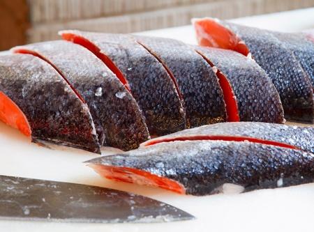 Fish at Tsukiji market. photo
