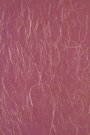Japanese paper with gold thread. photo