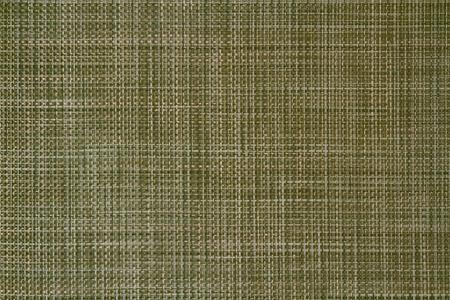 Green weave pattern background.
