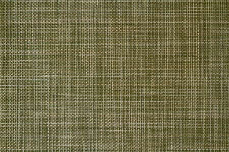 placemat: Green weave pattern background.