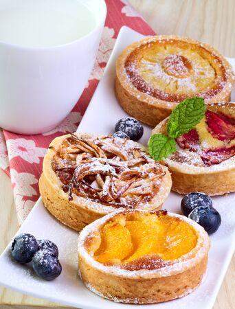 Fruit  cakes. Stock Photo