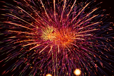 Fireworks. Banco de Imagens