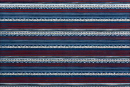 pinstripes: Background of pinstripes, in bold shades of purple, yellow, and blue. Stock Photo