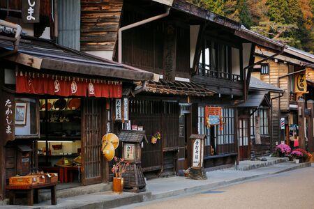 NARAI-JUKU, JAPAN - NOVEMBER 07, 2018 It is currently a very popular tourist destination.