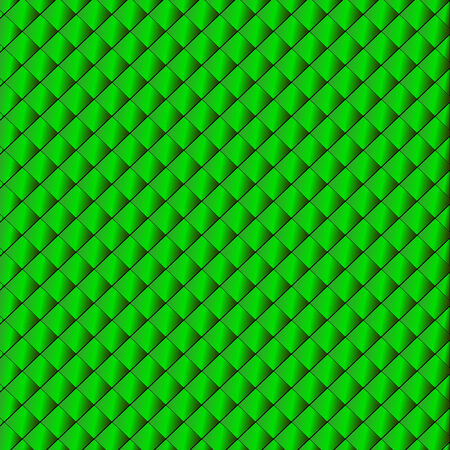 Sparkling background from small green rhombuses (vector Illustration