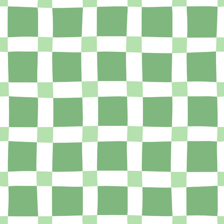 緑白のシームレス パターン