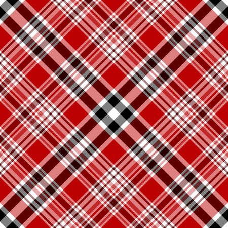 Nahtlose rot und Braun Diagonale Muster