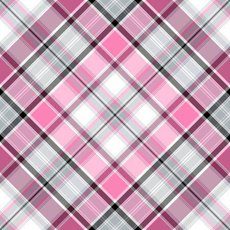 Seamless Rose-gris-blanc cross gentle pattern (vecteur 10 EPS)