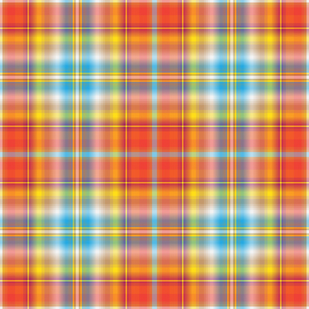 Seamless abstract colorful checkered pattern