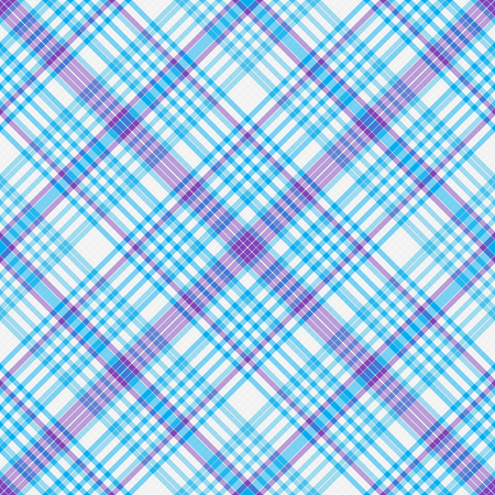 Abstract diagonal striped seamless pattern with white, blue and violet strips Иллюстрация