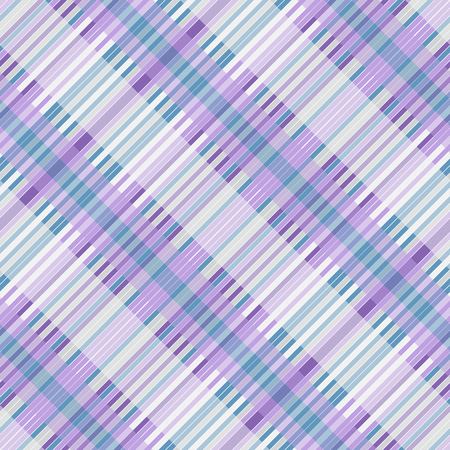 Abstract diagonal striped seamless pattern with white, violet, green strips