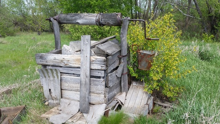 Very old water well