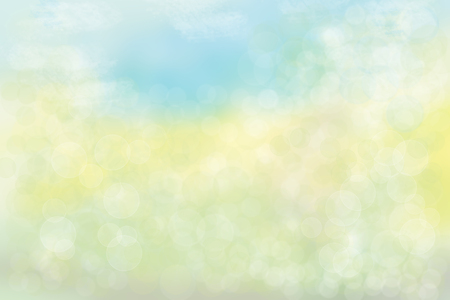 Abstract  pastel colored bright summer bokeh background. Concept summer holidays. A glorious summers day with sunshine at blue sky and with  bright colors of nature. 版權商用圖片