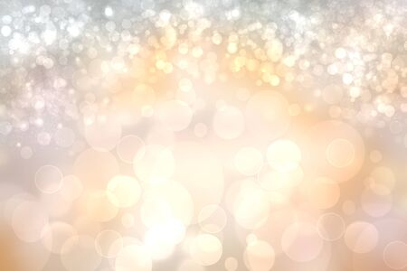Abstract festive bright silver gold shining glitter background texture with sparkling stars. Made for valentine, wedding, invitation or other holidays card design. Card concept.