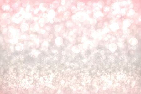 Abstract festive pink white shining glitter background texture. Made for valentine, wedding, invitation or other holidays card design. Card concept. Standard-Bild - 129226336