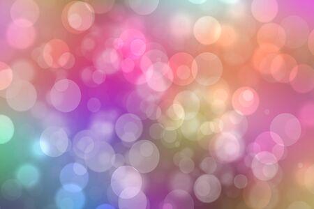 Tęcza tło. Streszczenie świeże delikatne pastelowe żywe kolorowe fantasy tęcza tekstura tło z niewyraźne światła bokeh. Piękna lekka konsystencja.