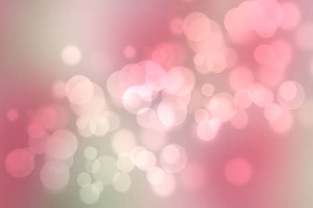 Abstract blurred fresh vivid spring summer light delicate pastel pink orange bokeh background texture with bright circular soft color lights. Beautiful backdrop illustration.