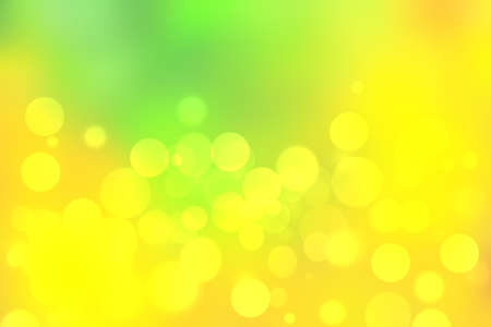 Abstract delicate gradient green light and yellow pastel spring or summer bokeh background. Beautiful texture.