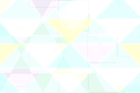Abstract colorful bright pastel blue pink yellow modern futuristic technology and business background texture with mixed geometrical figures. Medical structure, artificial intelligence and science presentation backdrop.