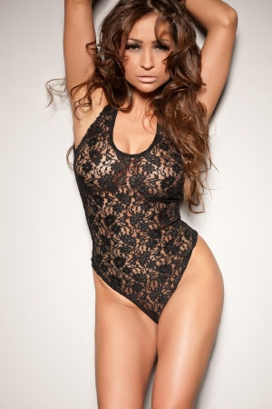 Beautiful woman in sexy lingerie