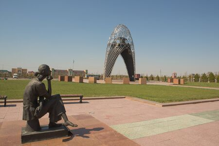 Memorial Akmola camp of wives of traitors of the Motherland ALGERIA ,