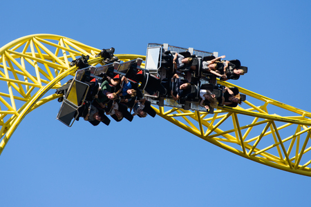 Linnanmaki Amusement Park, Ukko roller coaster