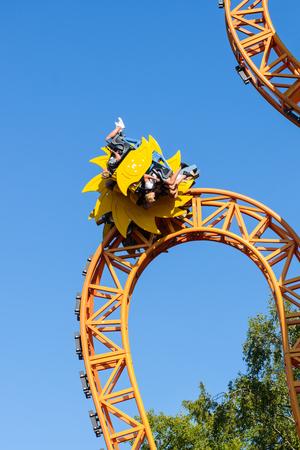 リンナンマキ遊園地、Kirnu ローラー コースター